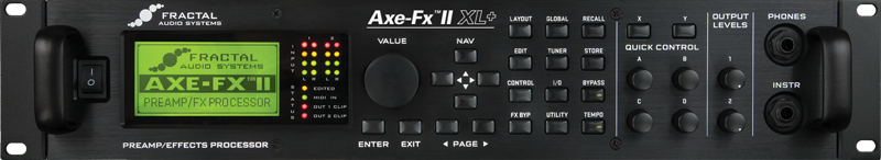 Fractal Audio Axe-Fx II XL+