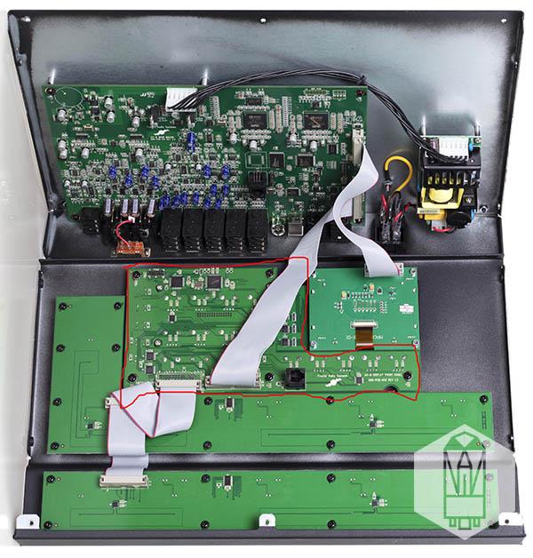 Fractal Audio AX8 inside