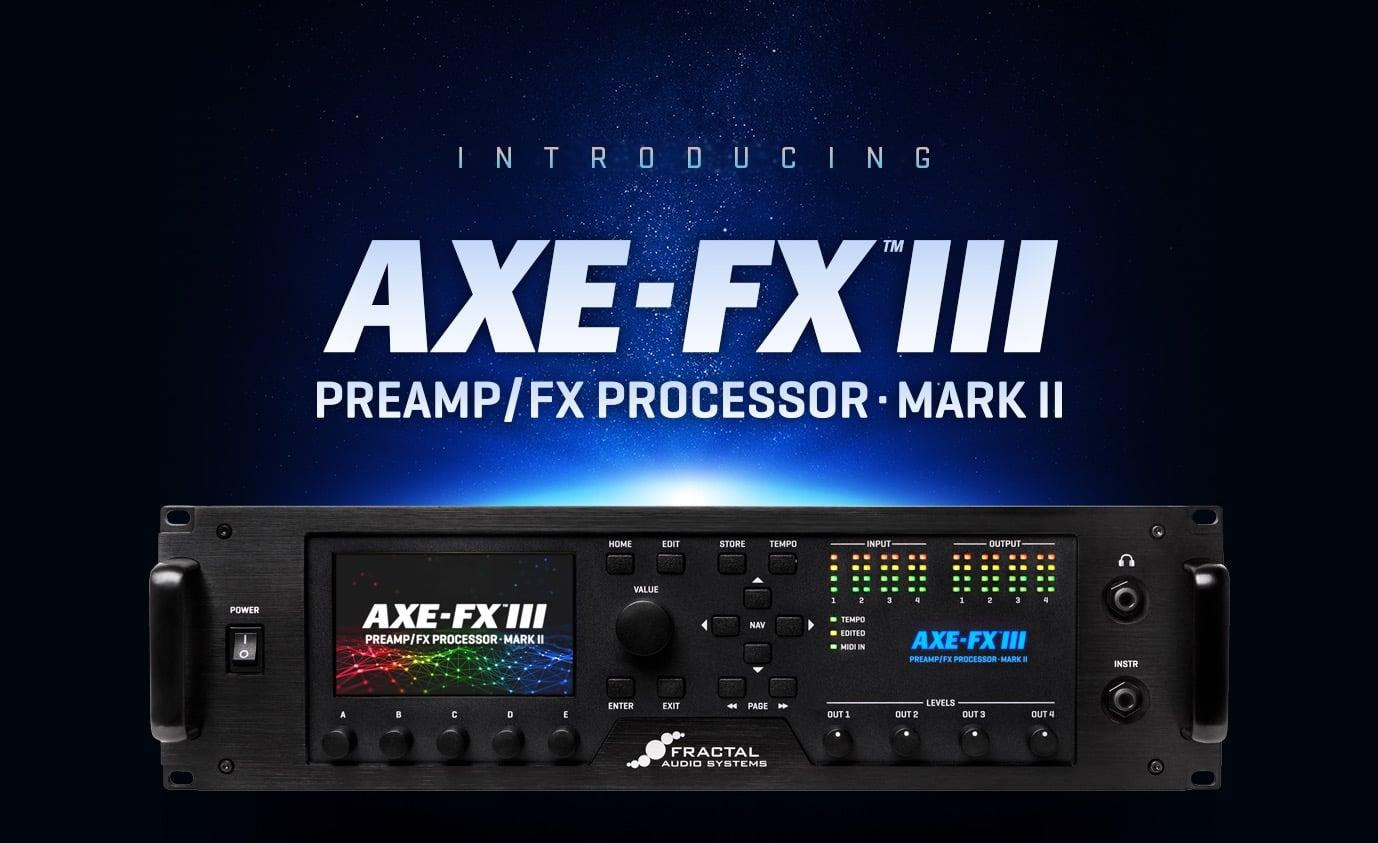 Fractal Audio Axe-Fx III Mark II