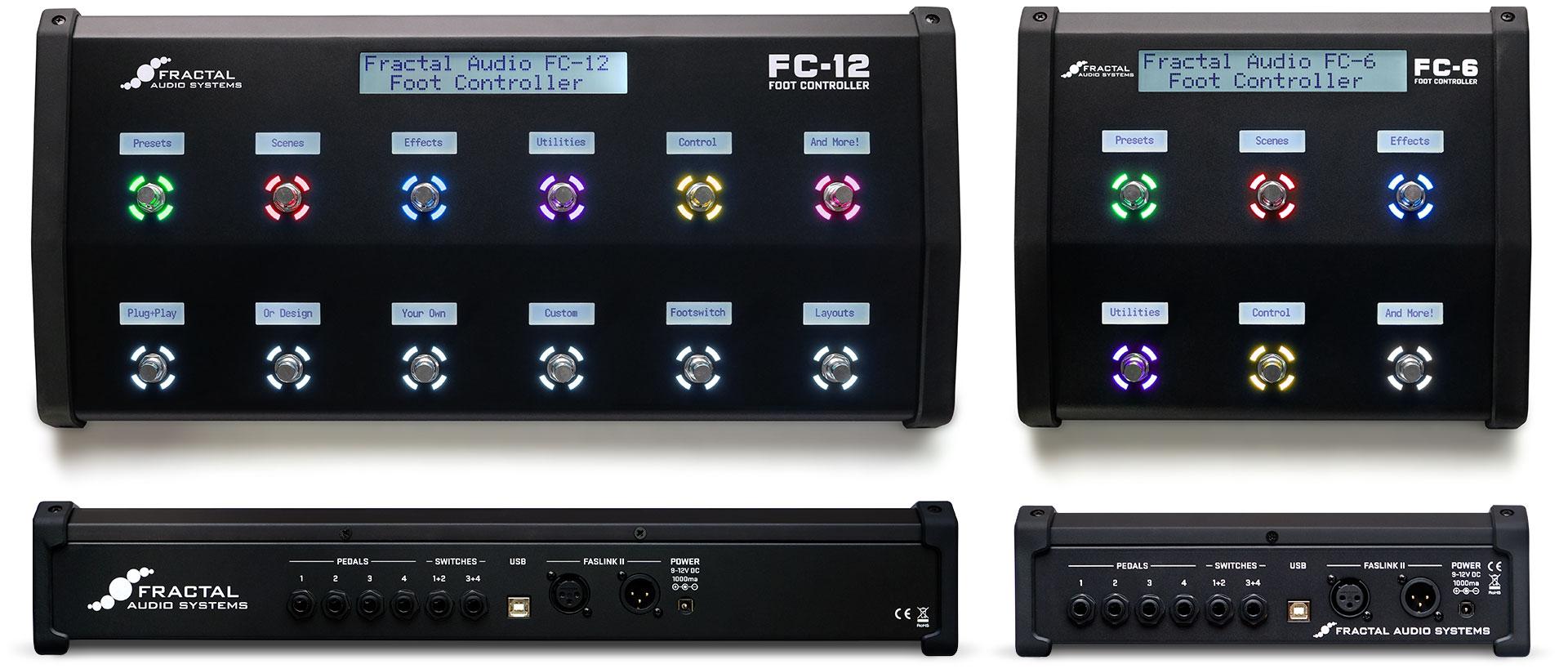 Fractal Audio FC6 + FC12